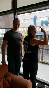 "Kiitos Gym1 ja Niko Suni! ""Burning muscle feel the pain!"""